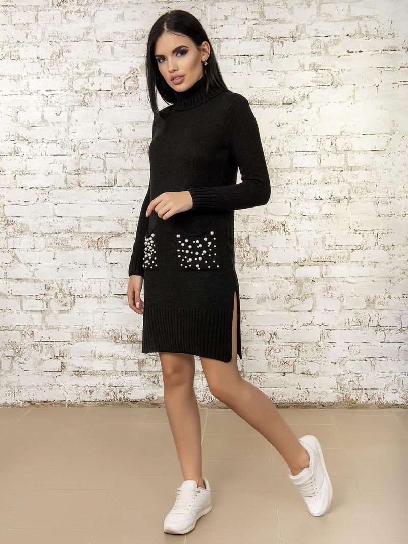 Платье женское 50303(Черный)