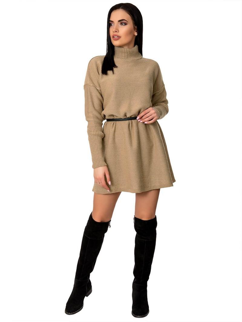 Платье женское 70425(Карамельный)