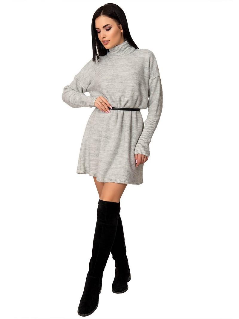Платье женское 70425(Светлый-Серый)