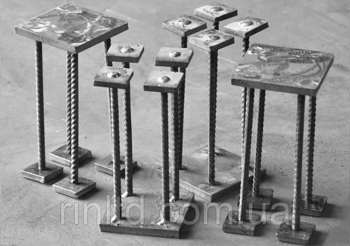 Закладные детали (изделия) в бетон для строительных металлоконструкций, фото 1