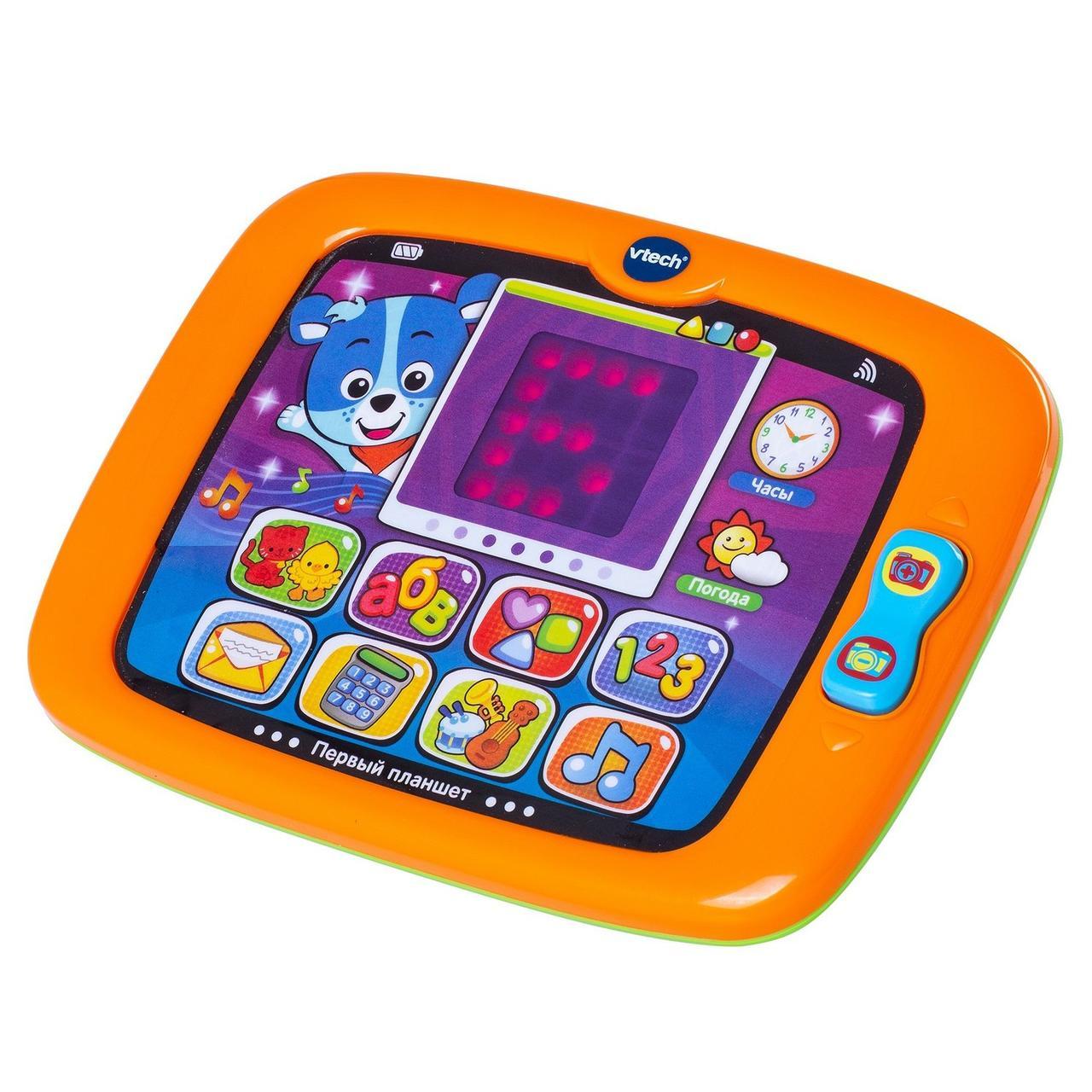 Розвиваюча электроннаяи гра VTech Перший планшет зі звуковими ефектами (80-151426)
