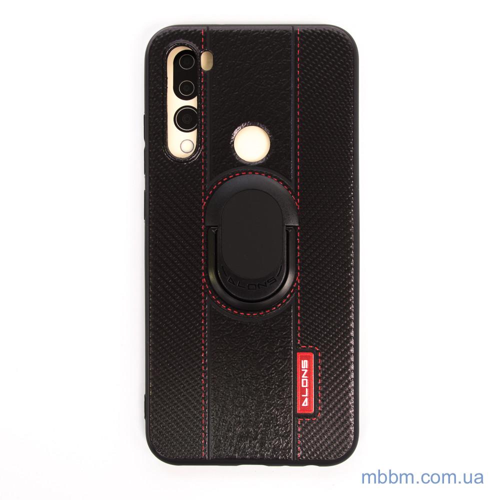 DLONS NY с держателем-подставкой Xiaomi Redmi Note 8 Black Черный