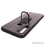 Чехол DLONS NY с держателем-подставкой Xiaomi Redmi Note 8 Black, фото 6