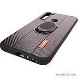 Чехол DLONS NY с держателем-подставкой Xiaomi Redmi Note 8 Black, фото 10