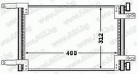 Радиатор кондиционера 1.2 8v-1.6 16v-1.9D Doblo 2000-2005 46811208