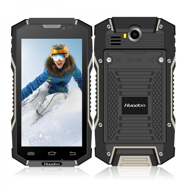 Защищенный мобильный смартфон Huadoo HG06 black 6000mAh