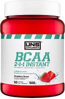 Аминокислоты UNS - BCAA 2:1:1 Instant (500 грамм) клубника