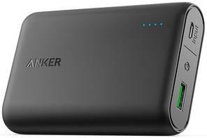 Зовнішній акумулятор ANKER PowerCore 10000 mAh with QC3.0 V3 (Чорний)