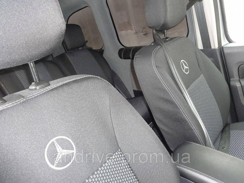 Авточохли Mercedes Citan Van (1+1) c 2013 р