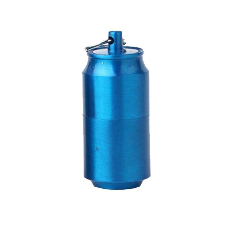 Запальничка бензинова мікро, EDC міні запальничка ZIPPO синя.
