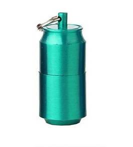 Зажигалка бензиновая микро, EDC мини зажигалка ZIPPO зеленая.