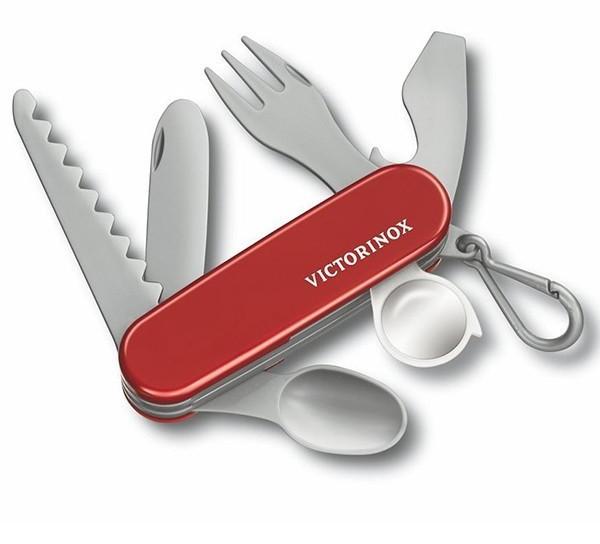 Нож детский складной, мультитул Victorinox Pocket Knife Toy (113мм, 8 функций), красный 9.6092.1