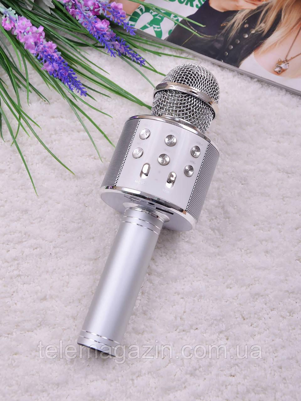 микрофон караоке 858