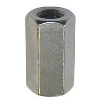 Гайка переходная DIN 6334 М12 шестигранная удлиненная.