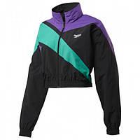 Женская укороченная спортивная куртка Reebok CLASSICS VECTOR (АРТИКУЛ: FM2074)
