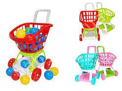 Візок супермаркет з кульками 20 штук Kinderway KW-36-008