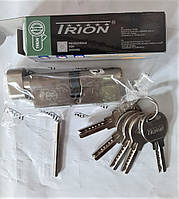 "Цилиндр (серцевина) латунная TRION  дверного замка ""ключ-ключ"" 80 мм (40*40) лазерный ключ (5 шт.)"