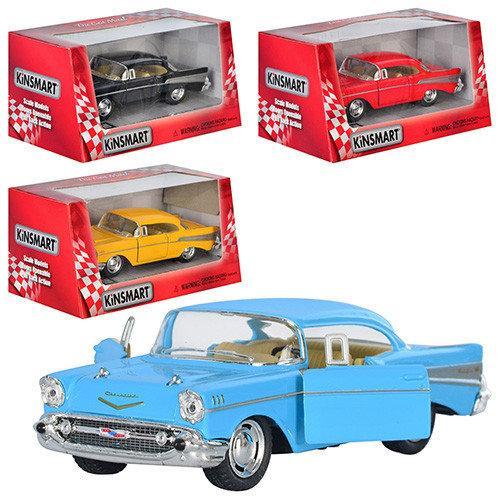 "Машина Kinsmart ""CHEVROLET BEL AIR 1957"" KT5313W металл."