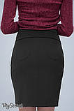 Прямая юбка для беременных ALMA SK-38.011  (Цвет: черный)  (размер S M), фото 2