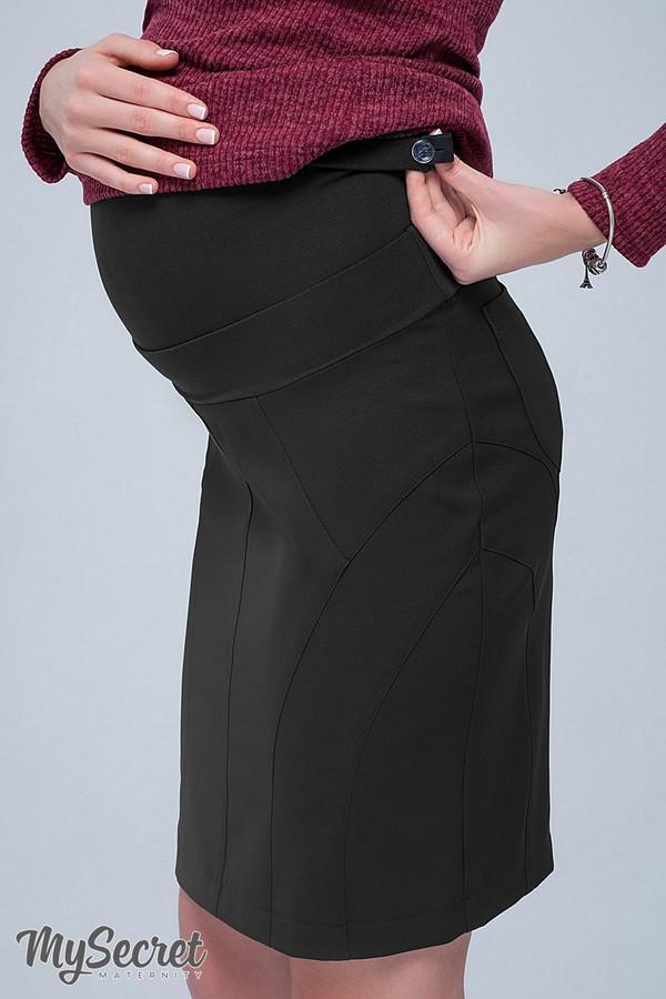 Прямая юбка для беременных ALMA SK-38.011  (Цвет: черный)  (размер S M)