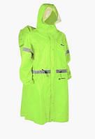 Пончо BLUEFIELD, накидка от дождя на рюкзак до 100 литров. Плащ-пончо размер M Зеленый.