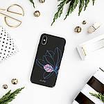 Pump Tender Touch Case чехол для iPhone X/XS Black Flower, фото 4