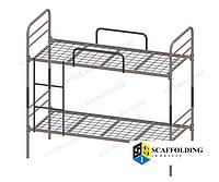 ✅ Металлическая двухъярусная кровать (для общежитий, казарм, хостелов). Вес 53 кг.ОПТом от 10 шт✅