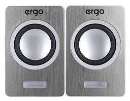 Акустика ERGO S-2049 USB 2.0 сріблястий