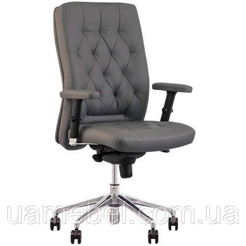 Кресло для руководителя CHESTER (ЧЕСТЕР) R STEEL CHROME LE