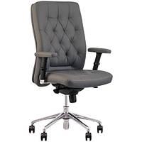 Крісло для керівника CHESTER (ЧЕСТЕР) R STEEL CHROME LE, фото 1