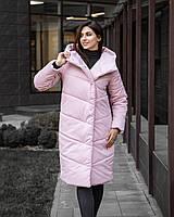 Пальто женское зимнее до -18° C / куртка парка розовая