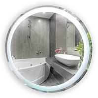 Зеркало с LED подсветкой (80*80*3см) рисунком VZ-D61