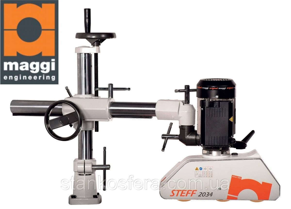 Автоподатчик Maggi (Италия) для подачи в деревообрабатывающие станки (фуганок, фрезер, циркулярку)