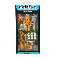 Игровой набор для анимационного творчества STIKBOT S3 - РЫЦАРЬ (1 экскл. фиг., аксессуары)