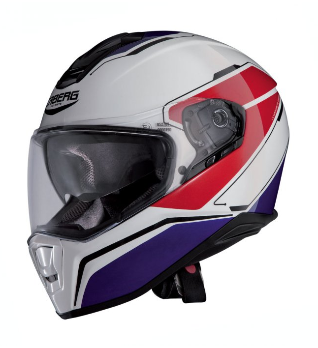 Мотошлем Caberg Drift Tour White/Blue/Red