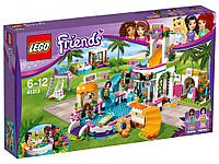 Lego Friends - Летний бассейн (Heartlake Swimming Pool, 589 дет), 6-12 (41313)