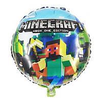 """Шар фольгированный """"Minecraft"""" Майнкрафт. Размер 45 см"""