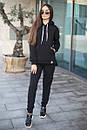Женский спортивный костюм из трхнитки с кофтой на молнии 52so801, фото 5