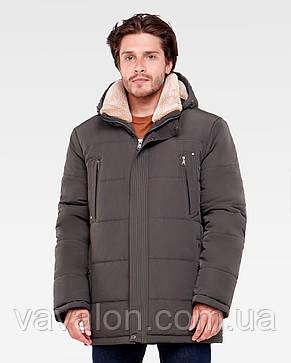 Зимняя мужская куртка Vavalon KZ-938 khaki, фото 2