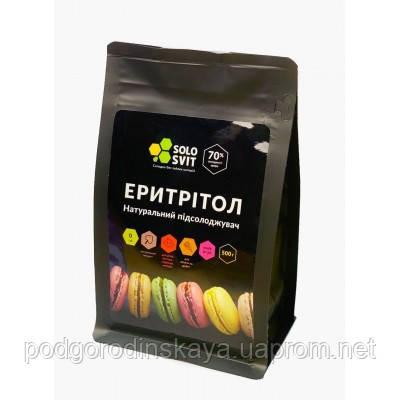 Натуральный сахарозаменитель Эритритол ТМ SoloSvit, 500 г