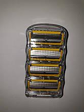 Картриджи Gillette Fusion ProShield Оригинал 4 шт без упаковки
