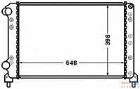 Радиатор охлаждения 1.6 16v-1.9D Doblo 2000-2005 +АС 51779232