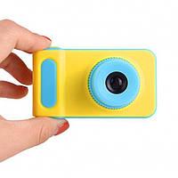 Детский цифровой фотоаппарат Smart Kids Camera V7 Желто-Голубой, Желто-Розовый