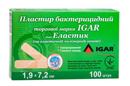 Пластирі бактерицидні IGAR