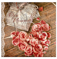 Альбом UFO 20sheet S22x32 Rose&Heart