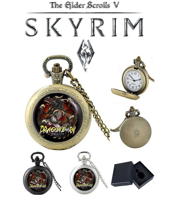 Карманные часы Dragonborn Skyrim: The Elder Scrolls / Скайрим