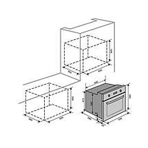 Духовой шкаф VENTOLUX VENETO 6 MT (AC/RB), фото 2