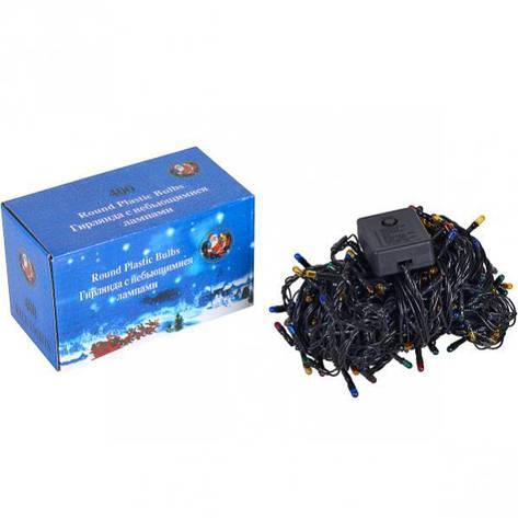 Гирлянда электрическая 400 (340) лампочек, фото 2