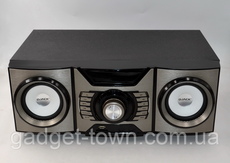 Портативна акустика 2.1 DJ-H1000 (60W/USB/BT/FM)