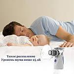 Ингалятор небулайзер МЕШ для детей и взрослых Doc-team Mesh небулайзер ультразвуковой небулайзер мембранный, фото 5